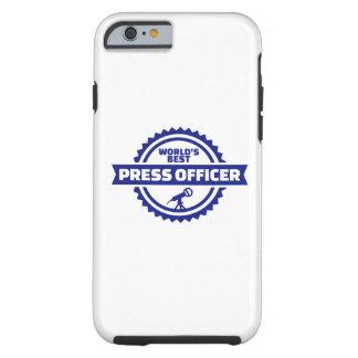 World's best press officer tough iPhone 6 case