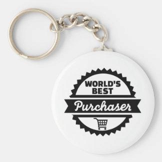 World's best purchaser keychain