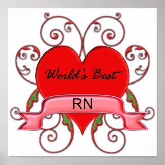 World s Best RN Poster