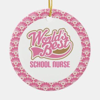 World's Best School Nurse Gift Ornament