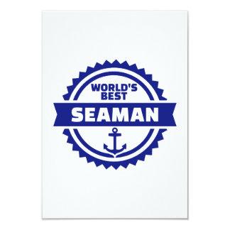 World's best seaman card