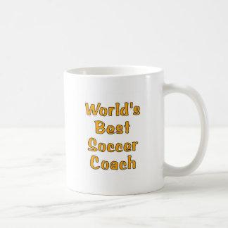 World s best Soccer coach gifts Mugs