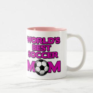 world s best soccer mom mug