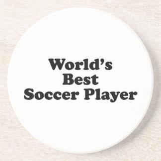 World s Best Soccer Player Beverage Coaster