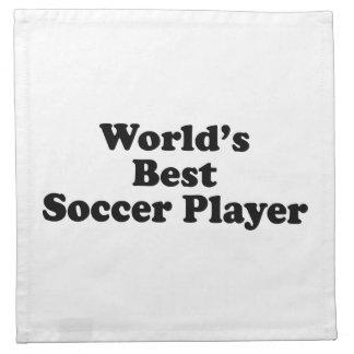 World s Best Soccer Player Napkin