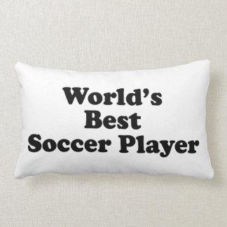 World s Best Soccer Player Pillow