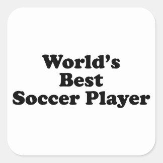 World s Best Soccer Player Sticker