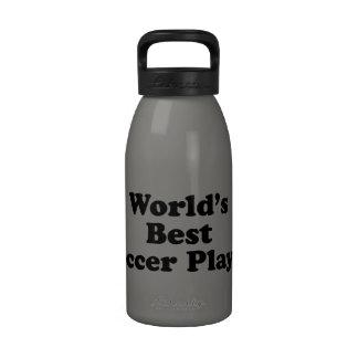 World s Best Soccer Player Drinking Bottle