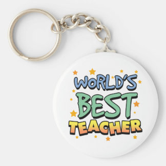 World s Best Teacher Keychain