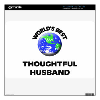 World s Best Thoughtful Husband Decals For The MacBook