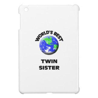 World s Best Twin Sister iPad Mini Cases