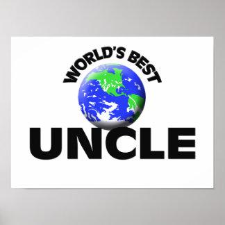 World s Best Uncle Print