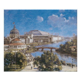 World s Colombian Exposition by Theodore Robinson Poster