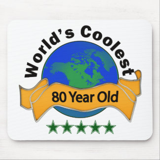 World s Coolest 80 Year Old Mousepads