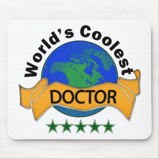 World s Coolest Doctor Mousepads