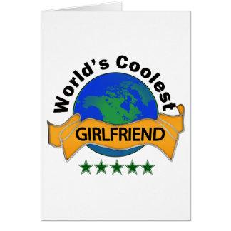 World s Coolest Girlfriend Card