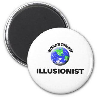 World s Coolest Illusionist Fridge Magnets