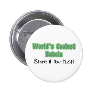 World' s el Babcia más fresco Pins