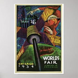 World s Fair A Century of Progress Poster