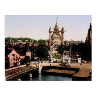 World s Fair Stockholm Sweden Post Card