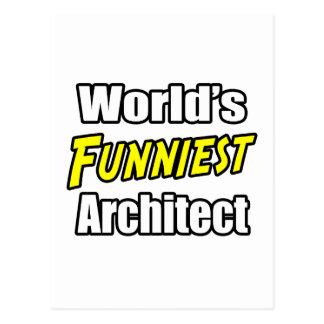 World s Funniest Architect Postcards