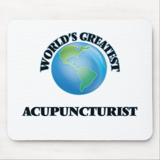 World s Greatest Acupuncturist Mouse Pads