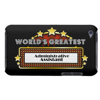 World s Greatest Administrative Assistant Barely There iPod Case