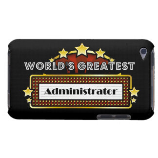 World s Greatest Administrator Barely There iPod Covers