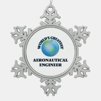 World s Greatest Aeronautical Engineer Ornament