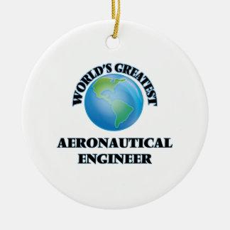 World s Greatest Aeronautical Engineer Christmas Ornaments