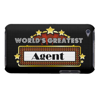 World s Greatest Agent Barely There iPod Cases