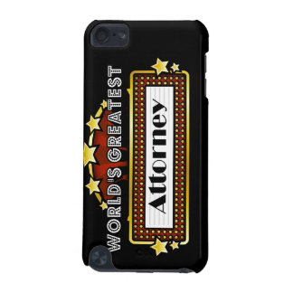 World s Greatest Attorney iPod Touch (5th Generation) Covers