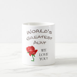World s Greatest Aunt Coffee Mugs