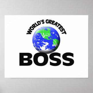 World s Greatest Boss Print