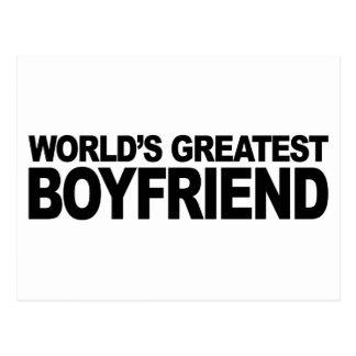 World s Greatest Boyfriend Postcards