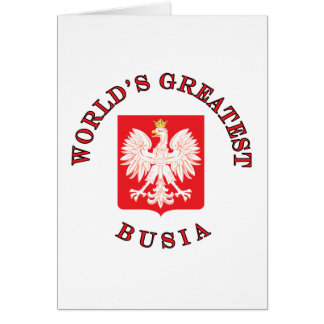 World s Greatest Busia Cards