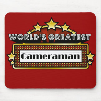 World s Greatest Cameraman Mousepad