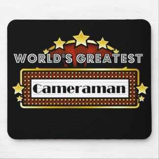 World s Greatest Cameraman Mouse Pads
