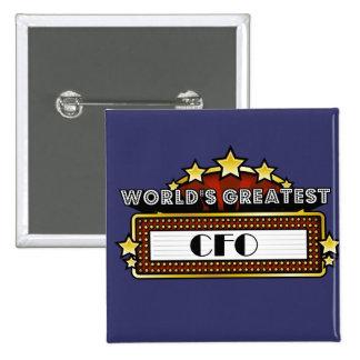 World s Greatest CFO Pin