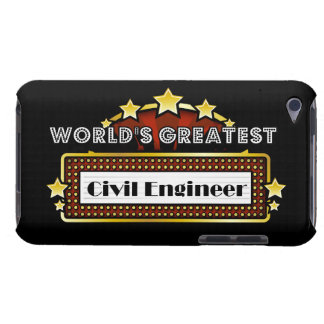 World s Greatest Civil Engineer iPod Touch Covers