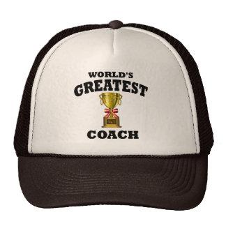 World s Greatest Coach Mesh Hats