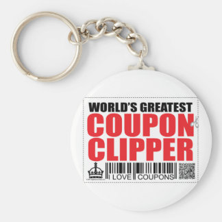 World s Greatest Coupon Clipper Key Chains