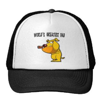 World s Greatest Dad Cap Mesh Hats