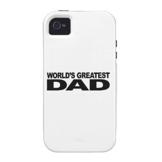 World s Greatest Dad Case-Mate iPhone 4 Covers
