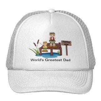 World s Greatest Dad Fishing Hat