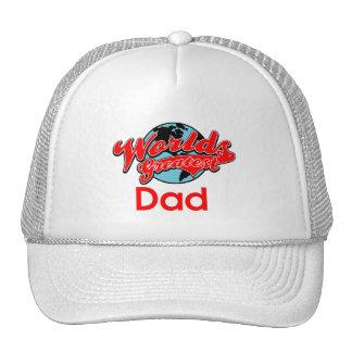 World s Greatest Dad Mesh Hats