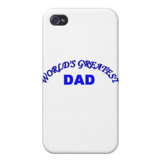 World s Greatest Dad Cover For iPhone 4