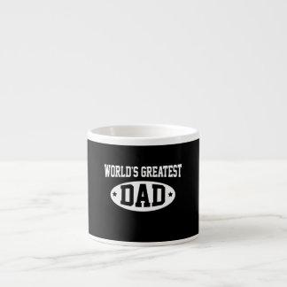 World s Greatest Dad Espresso Cups