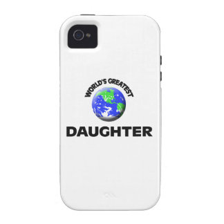 World s Greatest Daughter iPhone 4/4S Cover