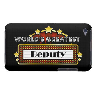 World s Greatest Deputy Barely There iPod Cover
